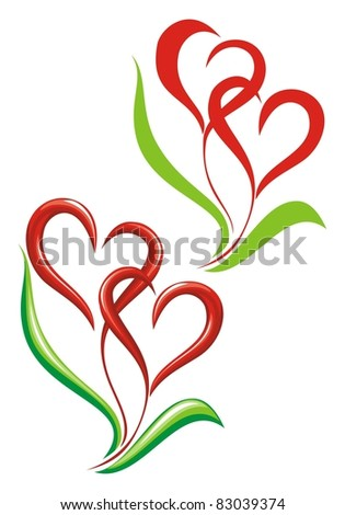 Valentin sacred Day - stock vector