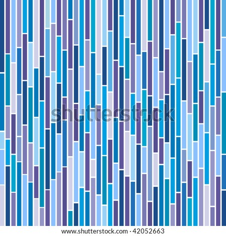 (Vector) Abstract vertical stripes design in cool colours. A Jpg version is also available - stock vector