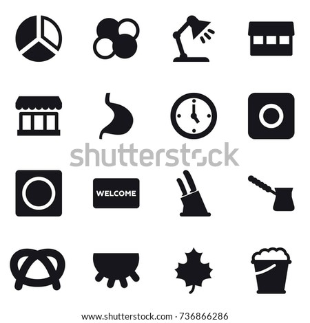 Table mat isolated stock vectors images vector art shutterstock 16 vector icon set diagram atom core table lamp market watch ccuart Choice Image