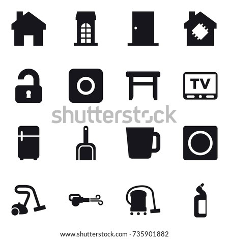 Utilities Icons Set Vector Illustration Style 481411294 on energy smart water heater