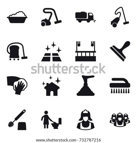 vacuum cleaner worker silhouette stock images royalty free images vectors shutterstock. Black Bedroom Furniture Sets. Home Design Ideas