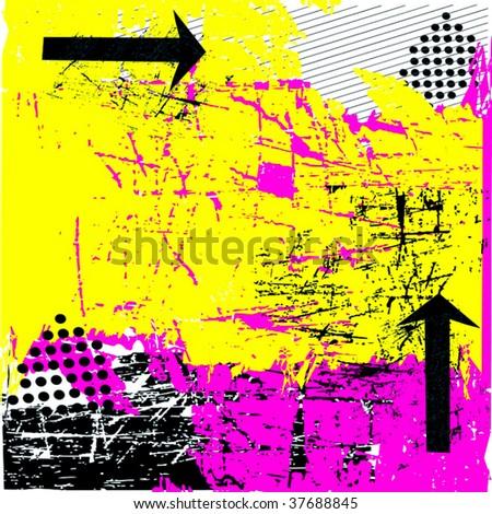 Vector Urban Grunge - stock vector