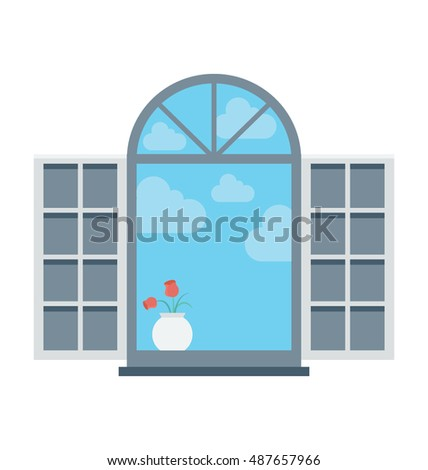 Window Vector Icon