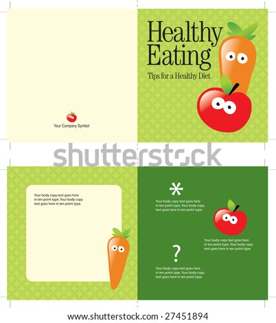 5x10 brochure template (folds to 5x5, includes cropmarks, bleeds, and fold marks)