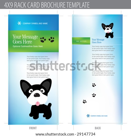 dog business card stock images royalty free images vectors shutterstock. Black Bedroom Furniture Sets. Home Design Ideas