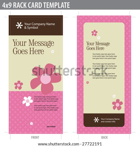 Rack Card Stock Images RoyaltyFree Images  Vectors  Shutterstock