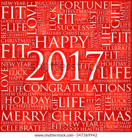 2017 year greeting word cloud collage stock vector 547369942 2017 year greeting word cloud collage happy new year celebration greeting card m4hsunfo Image collections