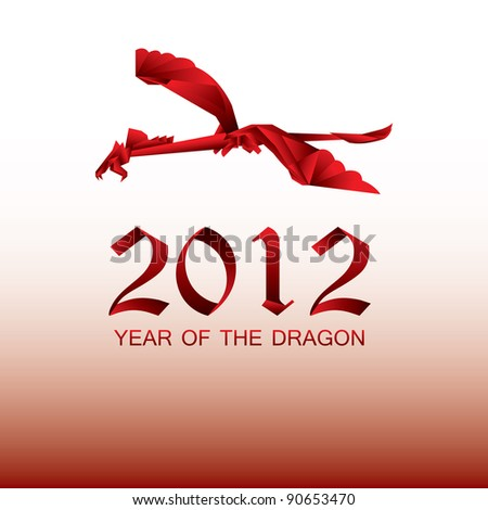 2012 Year of the red Dragon