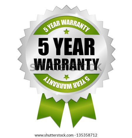 Image result for 5 years warranty