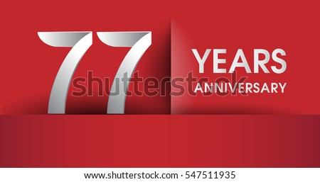 Years anniversary vector icon banner stock vector