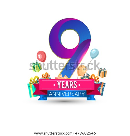 9th anniversary stock images royalty free images 9 year anniversary gift