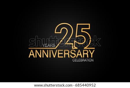 Years anniversary celebration logotype anniversary stock photo