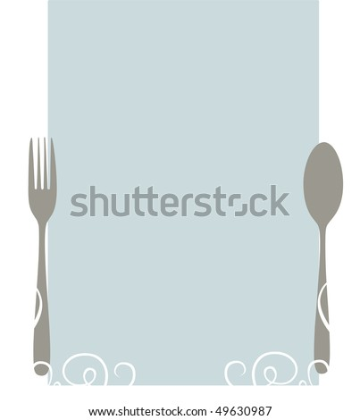 Blank Menu Template Todays Specials Stock Illustration 49570432