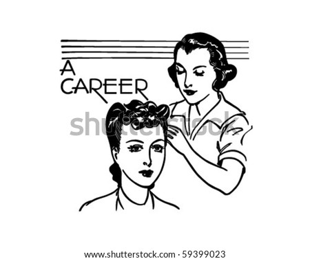 1940s style stock images royalty free images vectors for Uniform spa vector