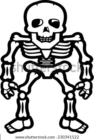 Skeleton Cartoon Stock Images, Royalty-Free Images & Vectors ...