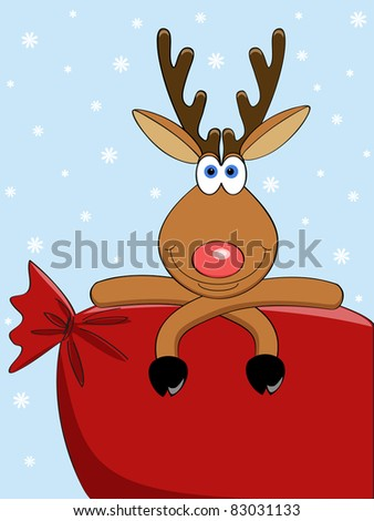 Cartoon reindeer Stock Photos, Cartoon reindeer Stock Photography ...