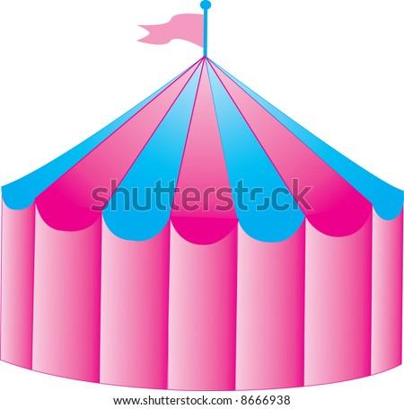 A fun circus tent  sc 1 st  Shutterstock & Fun Circus Tent Stock Vector 8666938 - Shutterstock