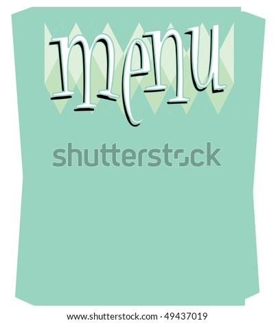 Diner Menu Stock Images, Royalty-Free Images & Vectors | Shutterstock