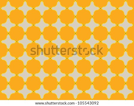 A geometrical vector pattern - stock vector