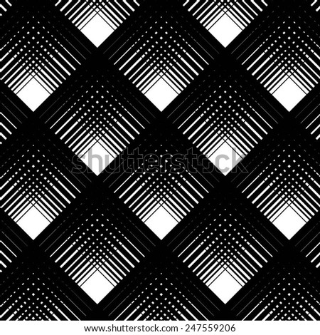 A grid pattern in the diagonal seamless vector background.