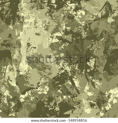 A Grunge Textured Paint Background - stock vector