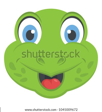 happy smiling frog face amusing expression stock vector hd royalty rh shutterstock com frog vector file frog vector file