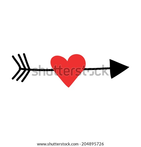 heart as a target stock photos images pictures. Black Bedroom Furniture Sets. Home Design Ideas