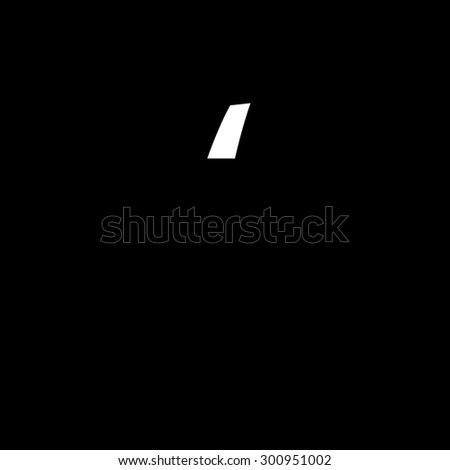A High Quality Illustrated Font isolated from the background - stock vector