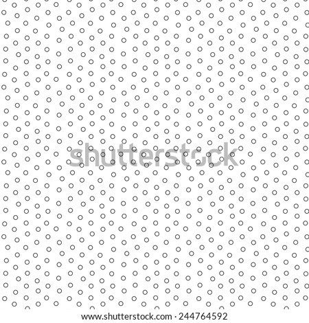 A hollow tiny bullets vector pattern - stock vector