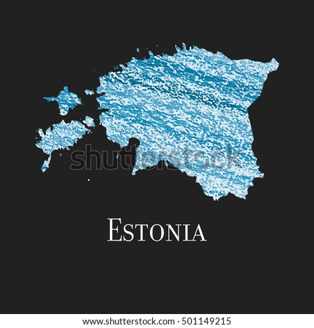 Illustration estonia colored stock photo photo vector a map of the country of estonia illustration of estonia colored map vector illustration gumiabroncs Choice Image
