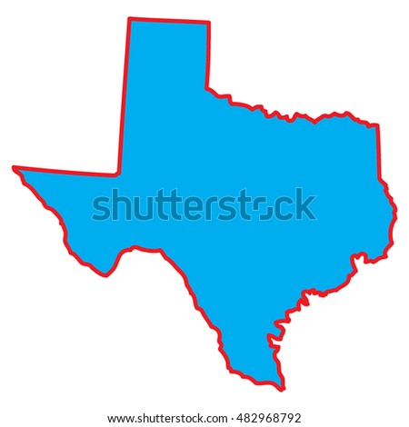 map state texas stock vector 482968792 shutterstock rh shutterstock com texas outline vector file free