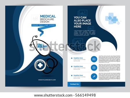 A4 medical brochure design template front stock vector 566149498 a4 medical brochure design template front back a4 medical brochure design template pronofoot35fo Images