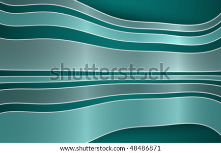 A modern style banner background - stock vector