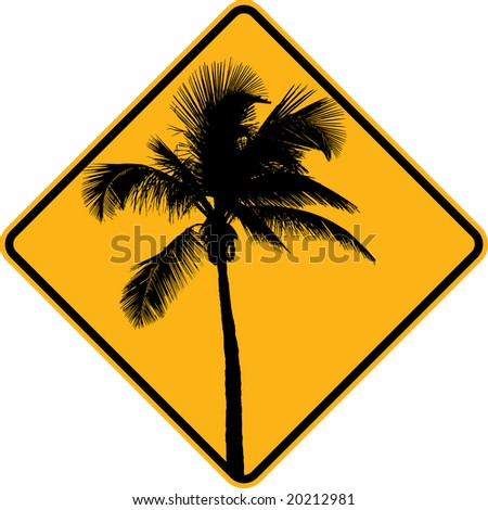Restaurant logos with a palm tree images