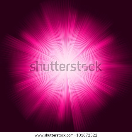 A Purple color design with a burst. EPS 8 vector file included - stock vector