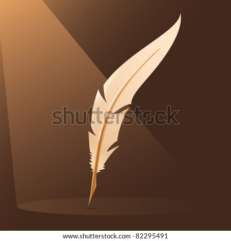 A quill / feather for writing