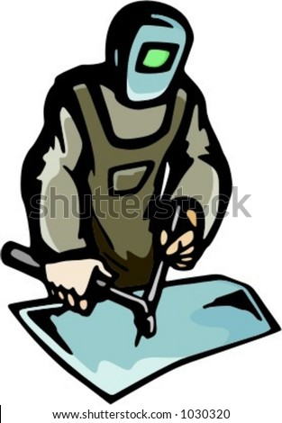 readytocut vector illustration welder stock vector 1030320 rh shutterstock com cut ready clipart cut ready clip art