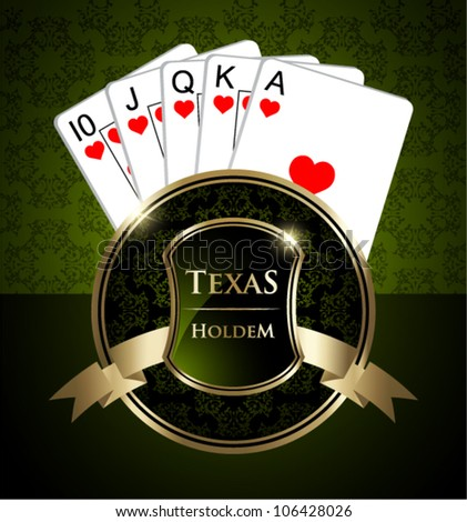 texas holdem flush