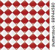 A seamlessly repeatable glossy checkered pattern. Eps 8 Vector. - stock photo