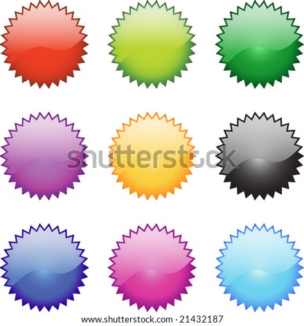 A Selectionn of Glossy Web Icons