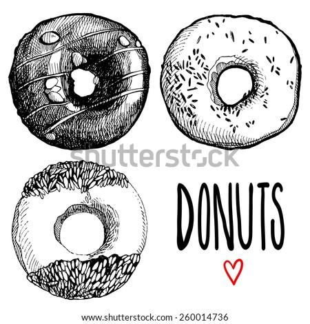 Donut Stock Vectors & Vector Clip Art | Shutterstock