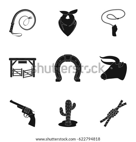 Set Pictures About Cowboys Cowboys On Stock Vector Hd Royalty Free