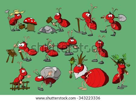 Queen ant cartoon images - photo#15