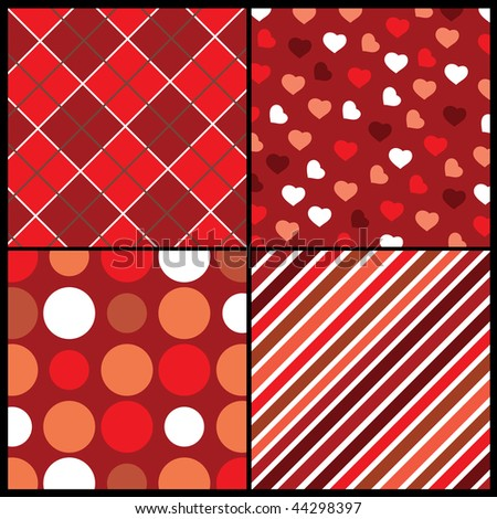 A set of 4 vector patterns