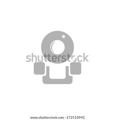 A simple webcam icon. - stock vector
