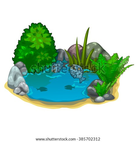 Landscape Design Vector Illustration