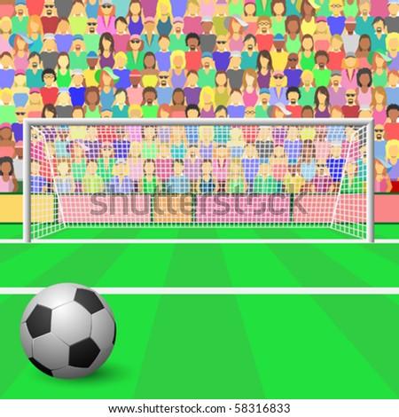 Cartoon Football Field Vector  Download 1000 Vectors