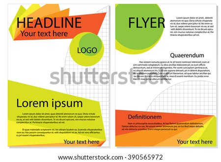 A template is a form, mold, or pattern used as a guide to making something such as cover layout or booklet.