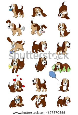 Beagle Cartoon Stock Images Royalty Free Images Amp Vectors