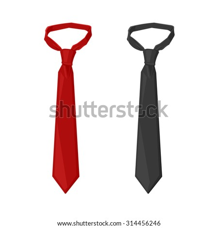 Neck tie stock images royalty free images vectors shutterstock a vector illustration of business dress business tie icon illustration formal tie for business ccuart Choice Image
